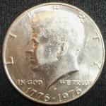 monedas de America - Estados Unidos -  1976 (Anverso)
