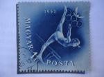 Stamps Hungary -  Magyar Posta 1Ft Posta 1952.