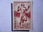 Stamps : Europe : Monaco :  Jeux Olympiques 1948.