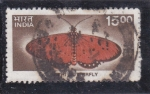 Stamps India -  mariposa