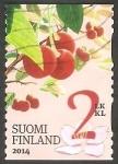 Stamps Finland -  Cerezas