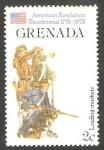 Stamps : America : Grenada :  Bicentenario de la independencia de los Estados Unidos
