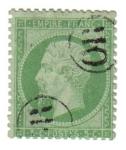 Stamps Europe - France -  Napoleón III