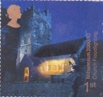 Sellos de Europa - Reino Unido -  castillo medieval