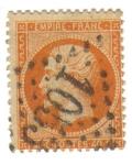 Sellos de Europa - Francia -  Napoleón III