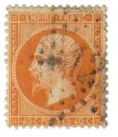 Stamps France -  Napoleón III