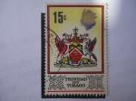 Stamps America - Trinidad y Tobago -  Escudo - Trinidad and Tobago.