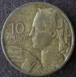 monedas de Europa - Yugoslavia -  1955 (Anverso)