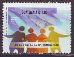 Sellos del Mundo : America : Guatemala : Lucha contra la Discriminación UPAEP