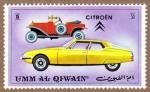 Sellos de Asia - Emiratos Árabes Unidos -  RES-vehiculos - citröen