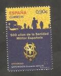 Stamps Spain -  500 años de la Sanidad Militar Española