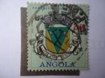 Stamps : Africa : Angola :  República Portuguesa-Villa de Damba - Escudo.