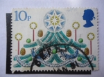 Sellos de Europa - Reino Unido -  Navidad.