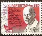 Sellos del Mundo : Europa : Alemania :  XI.Congreso del Partido Socialista Unificado de Alemania (SED)DDR.