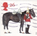 Stamps United Kingdom -  guardia real