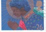 Stamps United Kingdom -  angel