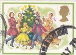 Stamps : Europe : United_Kingdom :  fiesta navideña