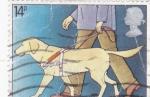 Sellos de Europa - Reino Unido -  perro