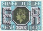 Stamps United Kingdom -  Silver Jubilee