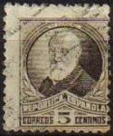 Sellos de Europa - España -  España 1932 663 Sello º Personajes Francisco Pi y Margall 5c Republica Española