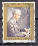 Sellos de America - México -  Manuel M. Ponce,25 aniversario de su muerte, 1948