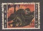 Stamps Greece -   1015 - Hercules enfrentándose al león de Némée