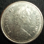 monedas de America - Canadá -  1983 (Anverso)