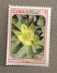 Stamps Cuba -  Flores silvestres