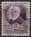 Sellos de Europa - España -  ESPAÑA 1932 666 Sello º Personajes Francisco Pi y Margall 20c Republica Española