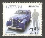 Sellos de Europa - Lituania -  983 - Europa, Vehículo postal