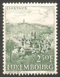 Stamps : Europe : Luxembourg :  599 - Vista de Clervaux