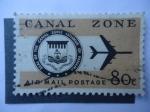 Stamps United States -  Sello del Ismo Zona del Canal de Panamá