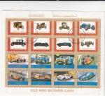 Sellos de Asia - Emiratos Árabes Unidos -  coches de época y coches de competición
