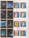 Stamps United Arab Emirates -  aeronáutica