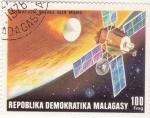 Sellos de Africa - Madagascar -  aeronáutica- operación Viking