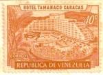 Stamps America - Venezuela -  HOTEL TAMANACO- CARACAS