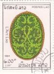 Stamps Laos -  arte laosiano