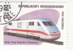 Sellos de Africa - Madagascar -  tren-Inter City Express Siemens