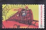 Sellos de Europa - Alemania -  ilustración de un tren
