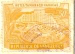 Stamps : America : Venezuela :  HOTEL TAMANACO- CARACAS