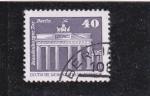 Stamps : Europe : Germany :  puerta de Brandemburgo- Berlín