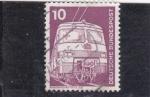 Sellos de Europa - Alemania -  tren
