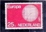 Sellos de Europa - Holanda -  Europa CEPT