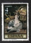 Stamps Spain -  Pintores : L. E. Menéndez