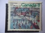 Stamps Canada -  King Christian - Henri Masson
