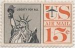Sellos de America - Estados Unidos -  Scott Nº C63_2