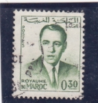 Stamps : Africa : Morocco :  Hassan II