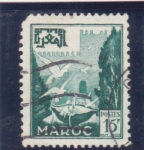 Stamps : Africa : Morocco :  fortificación