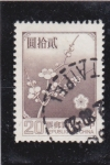 Stamps : Asia : Taiwan :  flores-