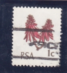 Stamps : Africa : South_Africa :  flores